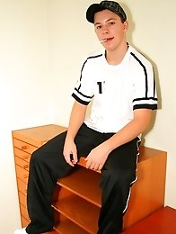 Cute skinny TeenBoy with innocent smile