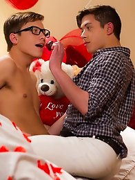 Jacob and Jamie are celebrating their first Valentines Day