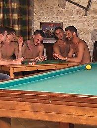Hard fuck on the pool table